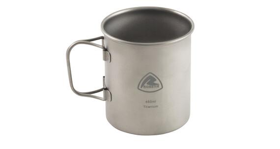 Robens Titanium Drinkfles grijs/zilver